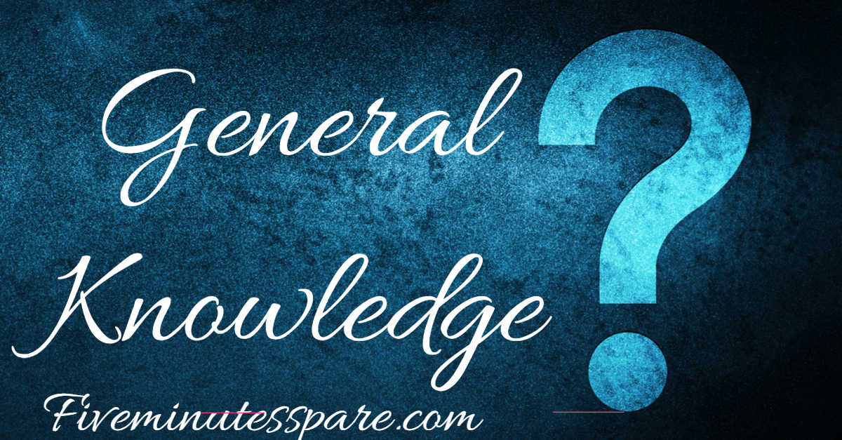 General knowledge quiz!! How many can you get right?