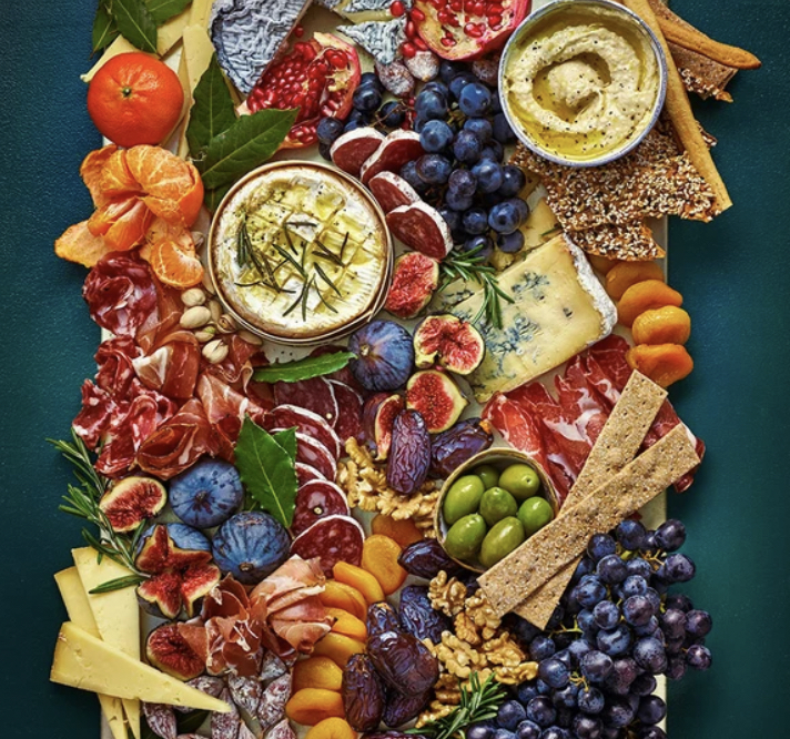 How To Serve A Grazing Platter