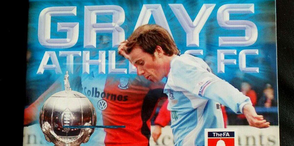 Grays Athletic FC Essex's FA Trophy Winners