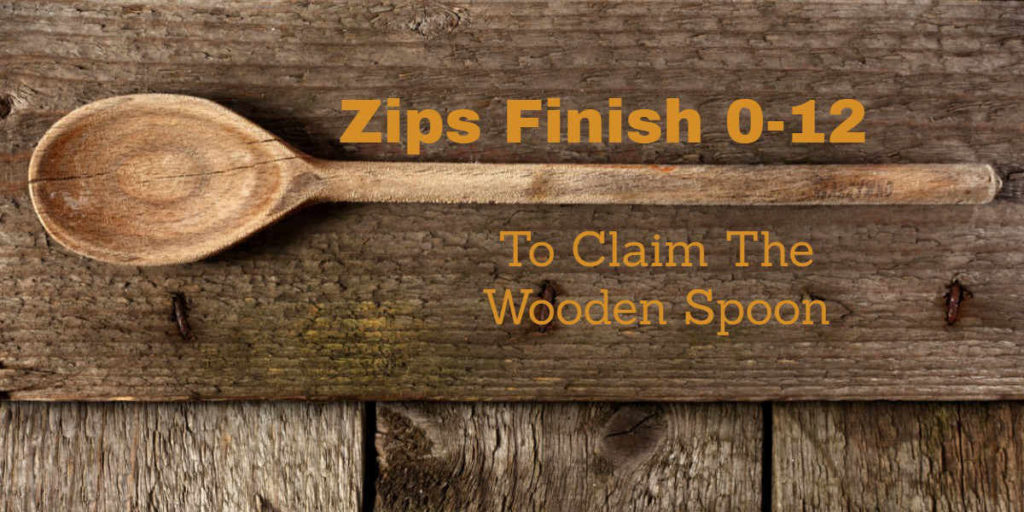 Arkon Zips Claim The Wooden Spoon.