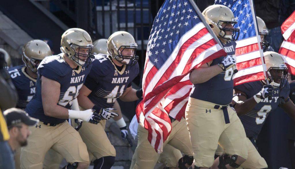 2019 Week 16 Army v Navy – Hardly a Pass In Sight