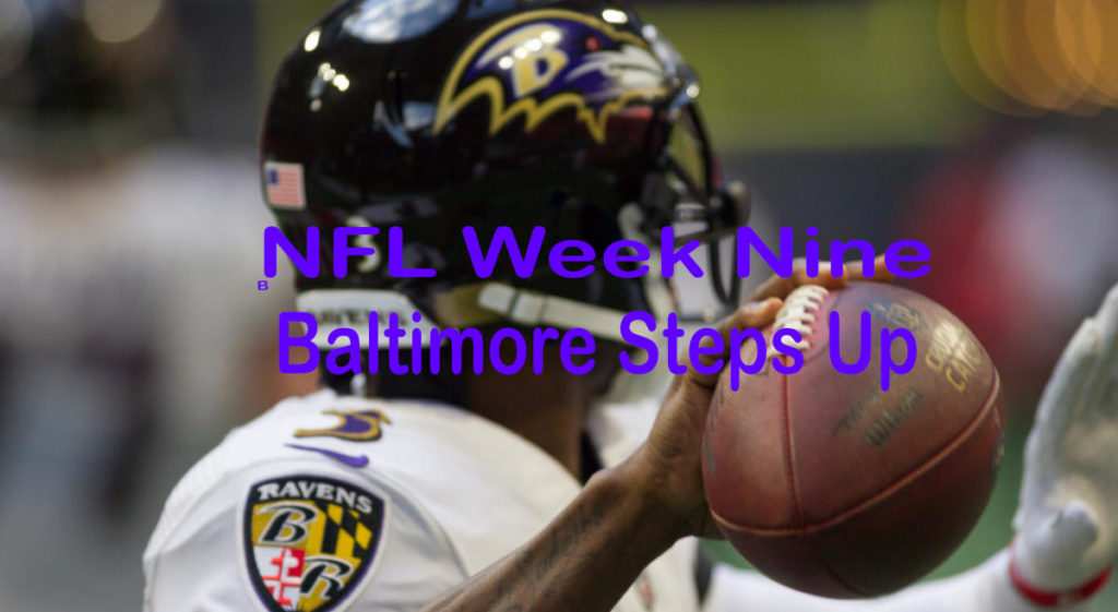 NFL 2019 Week Nine – And There Was One