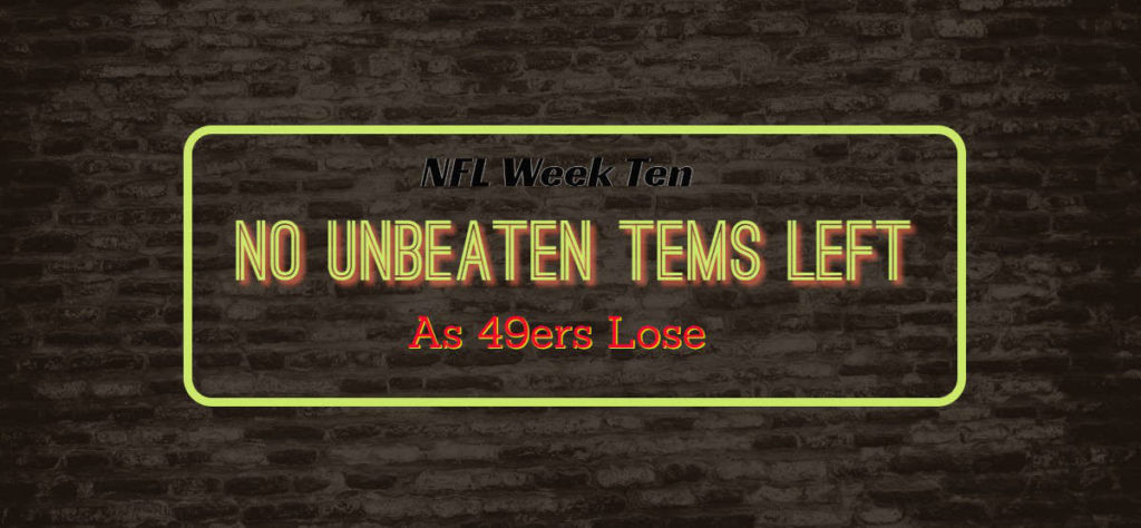 Week Ten – Seahawks Win Thriller In OT