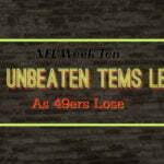 Week Ten - Seahawks Win Thriller In OT