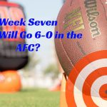 NFL 2020 Season Week 7 Clash of the 6-0 In the AFC