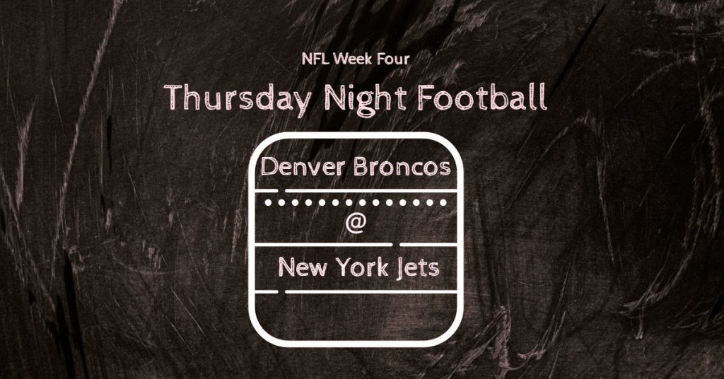 NFL 2020 Week Four Thursday Night Game A First Win Coming Up?